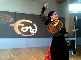 PHOTO SLIDESHOW: Behind-the Scenes with Dancer Maria Bermudez on ... - forever-flamenco-maria-bermudez-video-shoot-logo