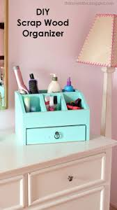 desktop office or vanity beauty organizer ana white build office