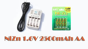 <b>Аккумуляторы</b> NiZn 1.6V <b>2500mAh</b> AA часть №2 опыт ...