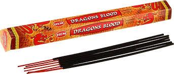 "<b>Благовония</b> HEM ""<b>Dragon Blood</b>"" (Кровь Дракона), 20 палочек ..."