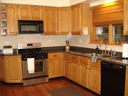 kitchen wooden cabinet kitchen  fascinating l shaped kitchen cabinet with oak wood made and d