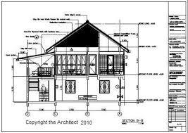 Thai Issan House Plan Traditional Thai House Drawing  construction    Thai Issan House Plan Traditional Thai House Drawing