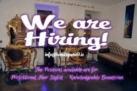 positions available for hair stylist and a beautician beautician jobs