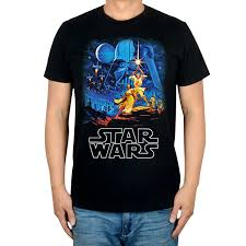 Summer <b>Style</b> Vintage <b>Star Wars men women</b> movie shirt Laser ...