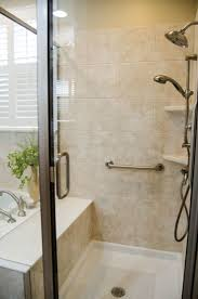 white blue bathroom pacific glass look at all that space in this semi framed all glass walk in shower