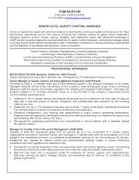 manufacturing resume samples resumes cover letter for manufacturing resume samples resume sample sle quality manager manufacturing resume sample sle quality manager manufacturing plant