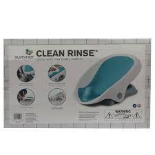Лежак для купания <b>Summer</b> Infant Clean Rinse Бирюзовый ...