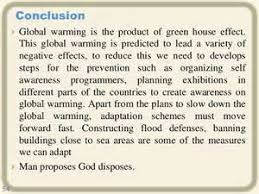 a cause and effect essay on global warming