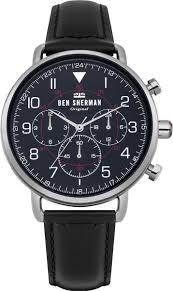 <b>Мужские</b> наручные <b>часы Ben Sherman</b> WB068UB кварцевые
