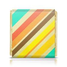 <b>Шоколадка 3</b>,<b>5</b>×<b>3</b>,<b>5 см</b> Полосатая абстракция #1766081 от ...