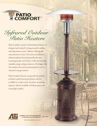 mounted infrared patio heater electric commercial alfresco
