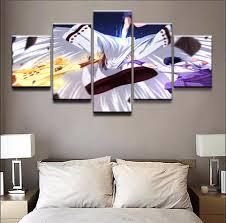 <b>Modern Wall</b> Art Decor Canvas Painting 5 Piece <b>Naruto</b> Uzumaki ...
