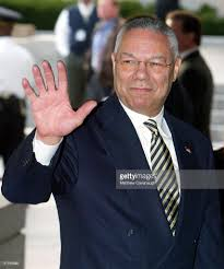 secretary of state colin powell resigns photos and images getty u s secretary of state colin powell r gestures to reporters after a news conference