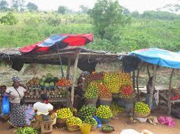 Resultado de imagen de mercado de frutas en abidjan
