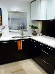 Black White Kitchen Designs Considering The Dark And Cool Black Kitchen Cabinets
