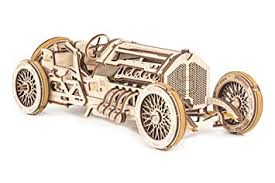 UGears 70044 U-9 Grand Prix Racing Car Model Car Self-Building ...