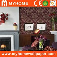 China Home Decoration <b>Damask</b> Wallpaper Flower with <b>High Grade</b> ...