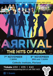 <b>ARRIVAL</b> - THE HITS OF <b>ABBA</b> - Visitmalta - The official tourism ...
