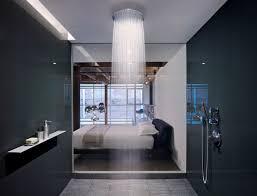 open bathroom bedroom