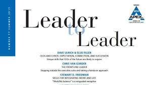 why you should have a written leadership philosophy  tom  why you should have a written leadership philosophy  tom deierlein  pulse  linkedin