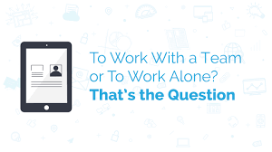 would you prefer working others or alone linkvista digital inc