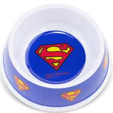 Миска для кошек <b>Buckle</b>-<b>Down</b> для животных <b>Супермен</b>, 19 х 19 х ...