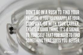sec tip don t be in a rush to your passion find your passion