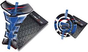 Yamaha <b>Fz6</b> Fz6n <b>Fz6s Fazer</b> Tank Pad and Cappad (Blue/Red ...