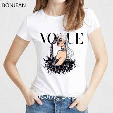 <b>ropa mujer 2019</b> queen and villains print t shirt women plus size ...