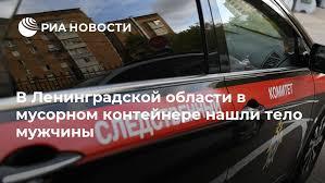 В Ленинградской области в <b>мусорном контейнере</b> нашли тело ...
