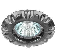 <b>Встраиваемый светильник ЭРА</b> Литой <b>KL66</b> SN — купить по ...