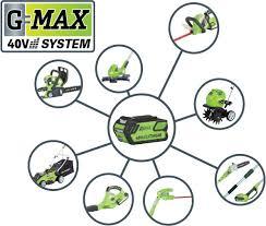 <b>G</b>-<b>MAX</b> 40V ― <b>GREENWORKS</b> MOSCOW