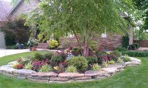 wonderful green purple yellow unique design residential landscape ideas home stone natural violet green garden moss backyard landscaping ideas rocks