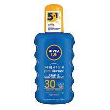 Солнечная линия NIVEA <b>Солнцезащитный спрей</b> для тела Nivea ...