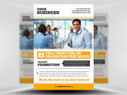 business flyer template psd business flyer template
