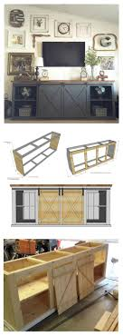 ana white build a grandy sliding door console and easy ana white build a grandy sliding door console and easy diy project and