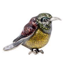 Online Shop <b>CINDY XIANG</b> Enamel Bird Brooches for Women ...
