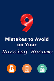 best ideas about nursing resume rn resume 9 mistakes to avoid on your nursing resume