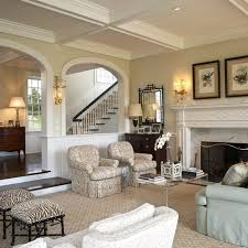 traditional living room with beige painted wall beautiful living rooms