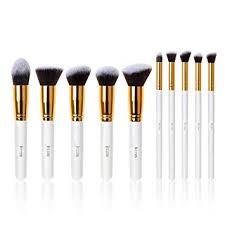 10 pcs set brand marbling makeup brushes professional foundation eyebrow eyeliner blush cosmetic concealer beauty tools