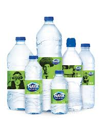 Image result for bouteille d'eau naya