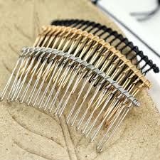 Blunt Metal Hair Comb