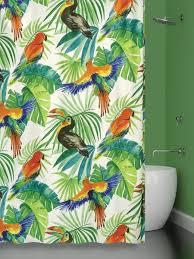 Штора 180х180 <b>д</b>/в BIRDS JUNGLE (ТУКАНЫ) Bath Plus 8831332 ...