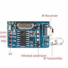 <b>2PCS 5V IR</b> Infrared Remote Decoder Encoding ...