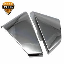 <b>Motorcycle</b> Side ABS <b>Chrome</b> Battery Side Fairing Covers <b>1 Pair</b> For ...