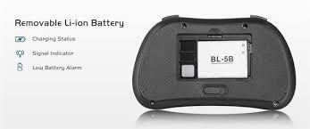 <b>I86 Backlit</b> Wireless Mini Keyboard Remote Control <b>Colorful</b> ...