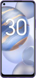 Мобильный <b>телефон Honor 30S</b> 6/128GB (неоновый фиолетовый)