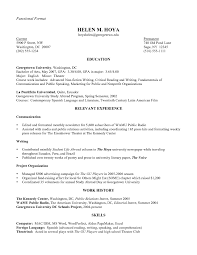 examples of resumes sample good resume in 93 wonderful good looking resume examples of resumes