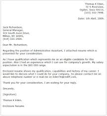 administrative assistant cover letter examplesadministrative assistant cover letters