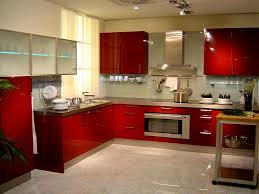 Red Tile Paint For Kitchens Simple Indian Kitchen Walls Tiles Interior